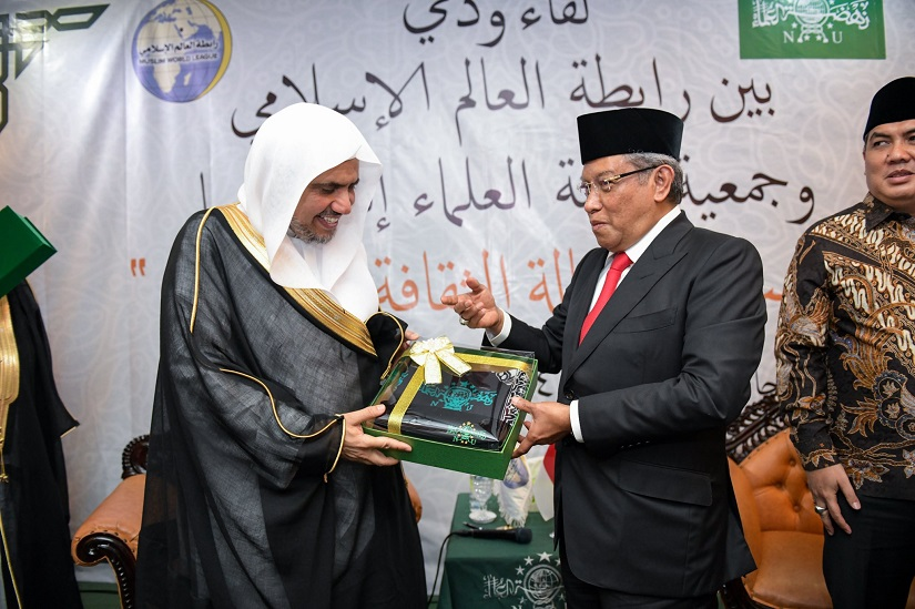 HE Dr. Mohammad Alissa was honored by the President of the Renaissance of Muslim Scholars Association in Indonesia