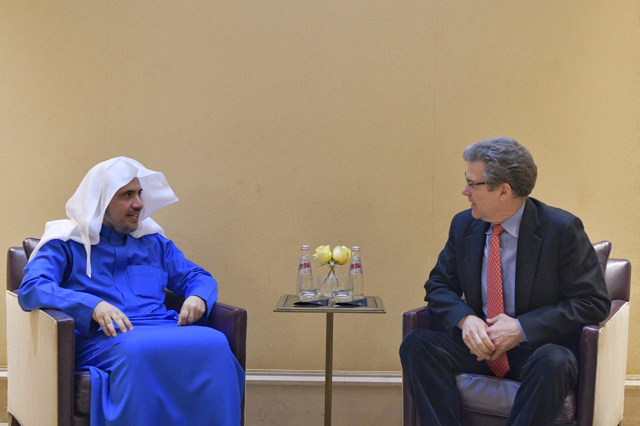 HE Dr. Mohammad Alissa met in Washington DC HE Amb. Sam Brownback