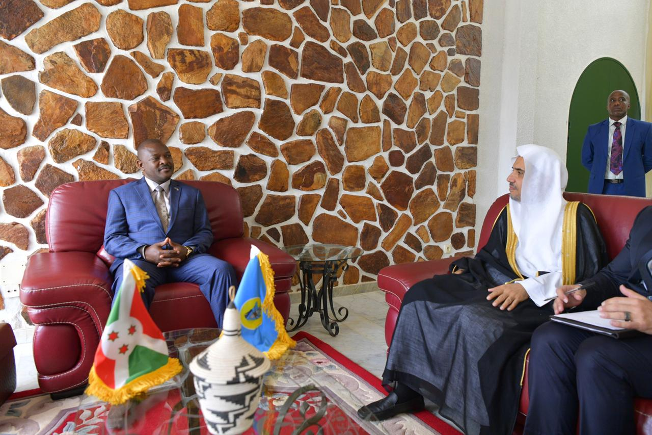 HE Mr. Pierre Nkurunziza, President of Burundi receives HE Dr. Alissa.