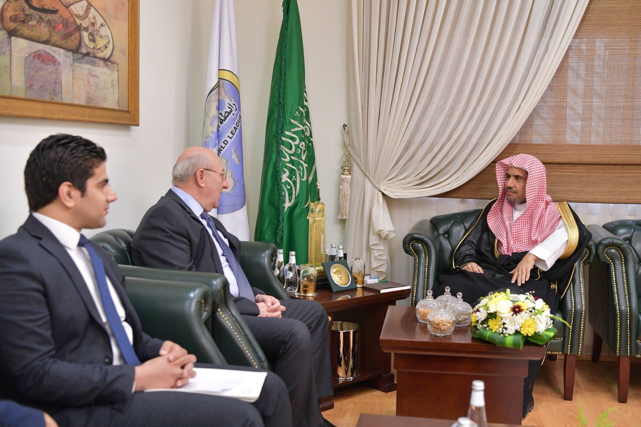 Dr. Mohamed Alissa received the Ambassador of the Arab Republic of Egypt to the Kingdom