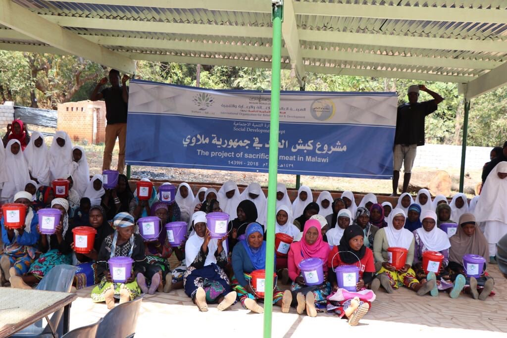 Through its World Relief, Care and Development Organization, the MWL implements the ram of the Eid project