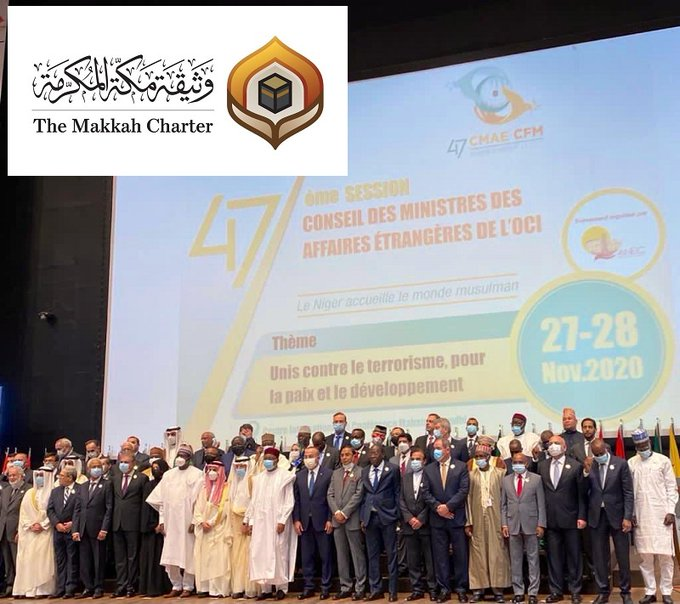 The OIC_OCI Council of Foreign Ministers adopted the Charter of Makkah as a reference