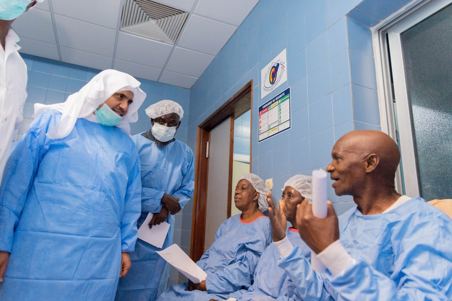 MWL provides hundreds of life-changing cataract operations free of charge every year to support the Senegalese people