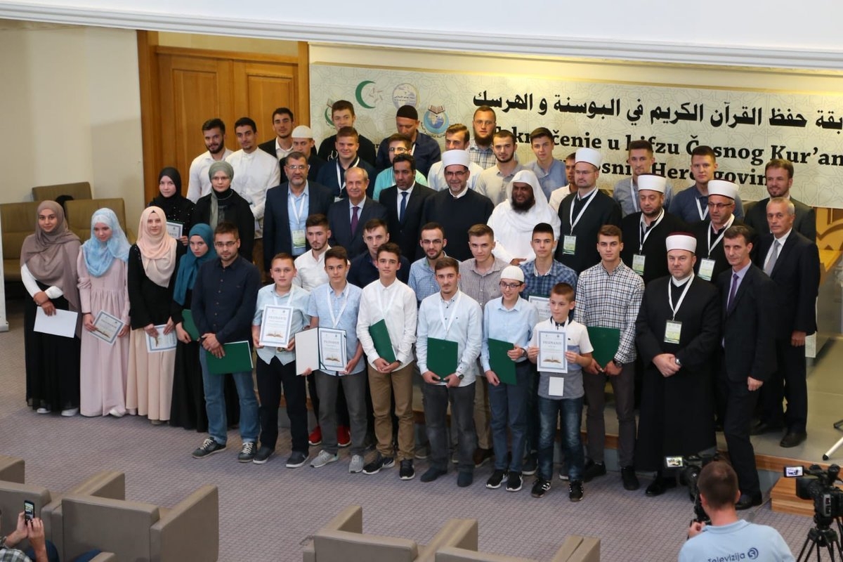 The MWL held a ceremony honoring the winners of its Holy Quran contest in Bosnia and Herzegovina