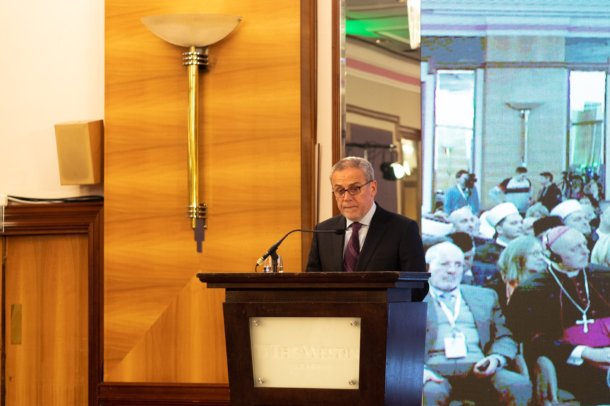 "The Mayor of Zagreb spoke at last week's MWL ""Conference on Human Brotherhood - the Basis for Peace and Security"""