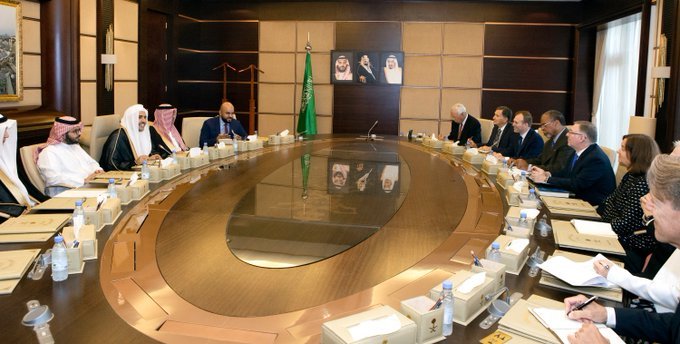 HE Dr. Mohammad Alissa met with representatives of the U.S. evangelical community