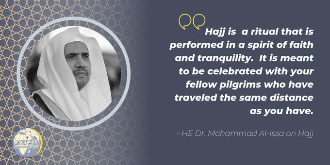 HE Dr. Mohammad Alissa shares his Hajj Reflections
