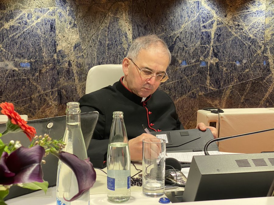 His Excellency Monsignor Khaled Akasheh, Head of the Islam Office at the Pontifical Council for Interreligious Dialogue