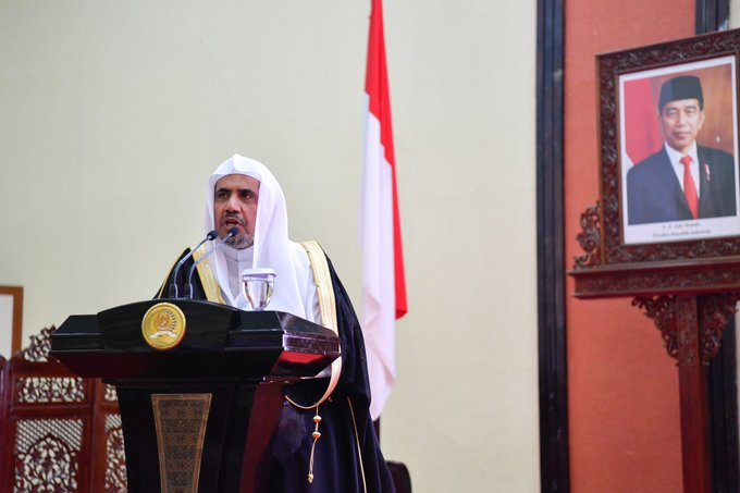 In Indonesia, HE Dr. Mohammad Alissa discussed the MWL's commitment to promoting tolerance & moderation around the world
