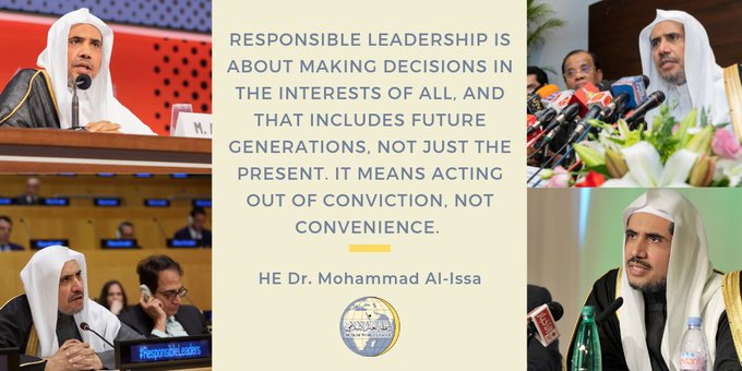 MWL promotes responsible leadership across the globe
