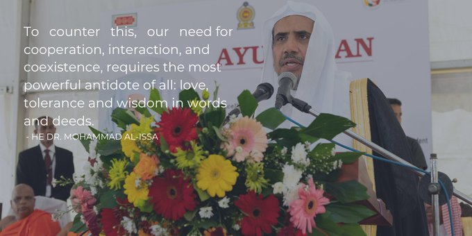 The MWL creates avenues for interfaith cooperation and respect through its work around the world