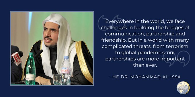 HE Dr. Mohammad Alissa was honored this week by Combat ASemitism & American Sephard