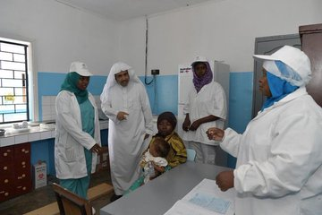 The Muslim World League implements health, development, and relief projects throughout Africa