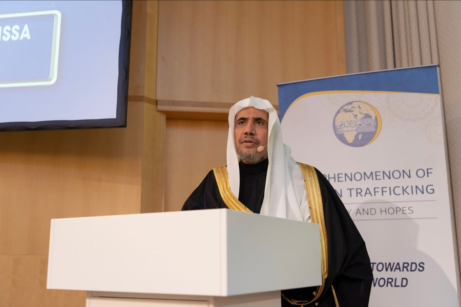 The Muslim World League supports all efforts to combat this heinous crime & encourages urgent international cooperation to End Human Trafficking once and for all