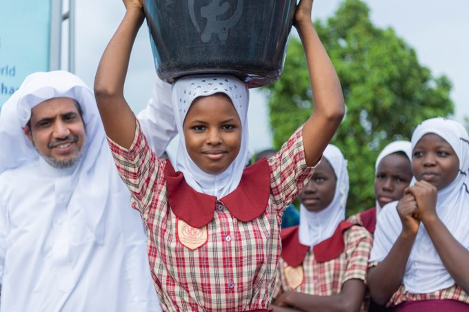 The Muslim World League dug thousands of wells in Ghana to enhance critical access to clean water for the local community