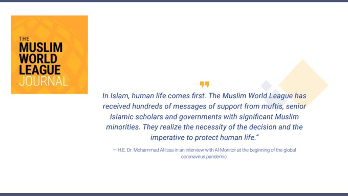 The MWL Journal provides regular updates about the MWL's global initiatives