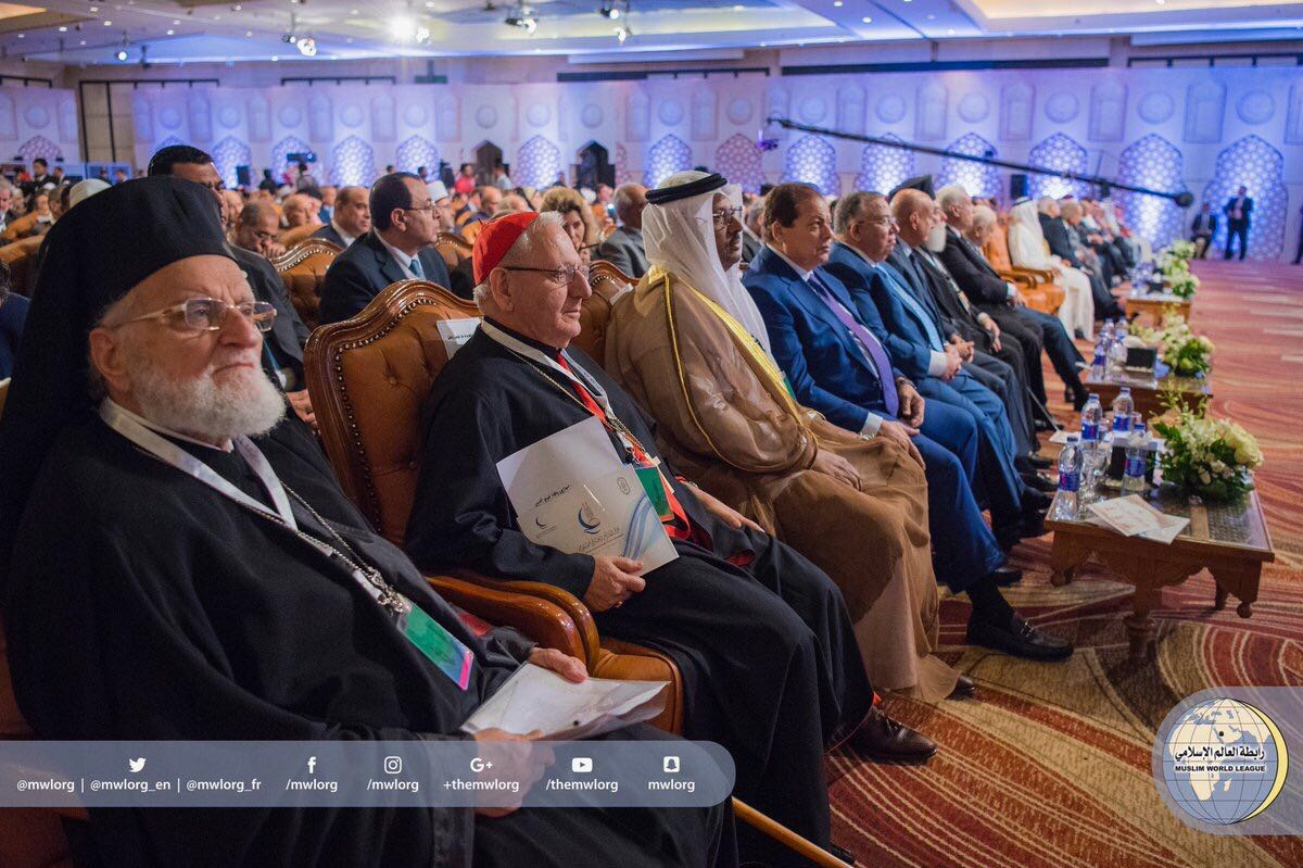At Al-Azhar Peace Conference gathering, the SG said: extremism has no particular religious school. It has 45000 fighters from 101 countries.
