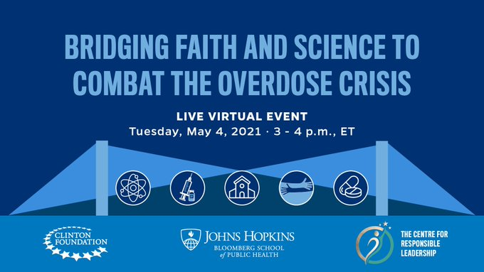 On May 4, HE Dr. Mohammad Alissa joins in a conversation about bridging faith and science to combat the overdose crisis