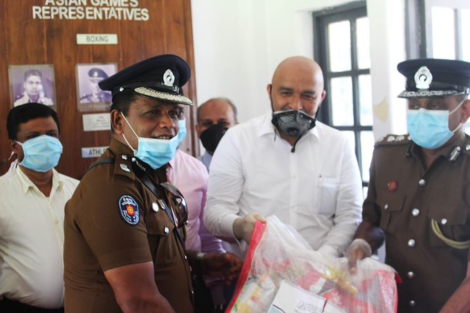 The MWL donated 1,250+ food packs to communities in SriLanka
