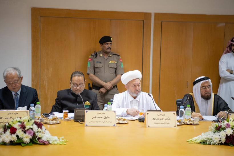 His Eminence the Grand Mufti of the Kingdom of Saudi Arabia chaired the 43rd session of the Supreme Council of the Muslim World League in Makka