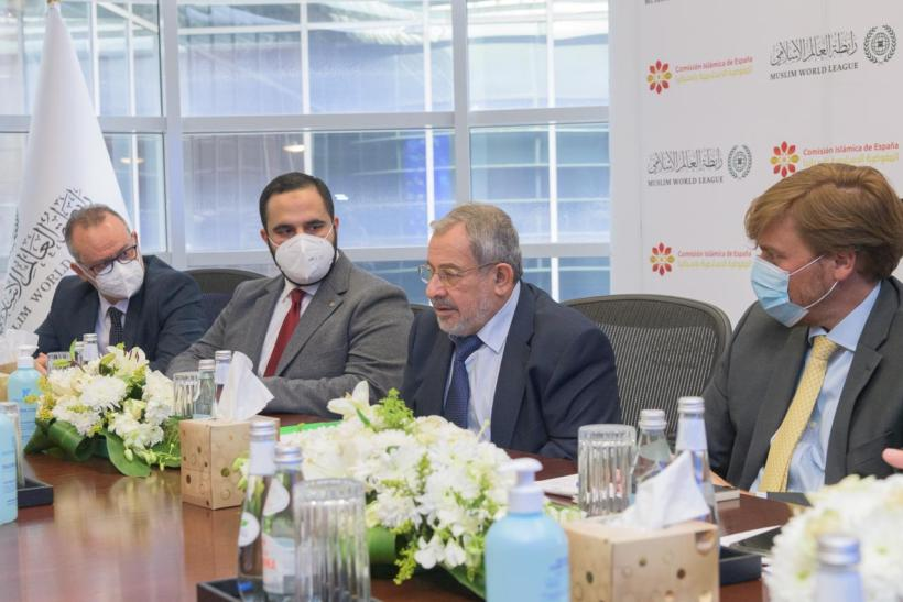 HE Dr. Mohammad Alissa welcomed the Honorable President of the Islamic Commission in Spain, Dr. Aiman Adlbi