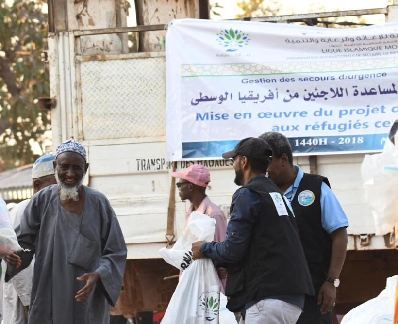 Muslim World League ends emergency relief campaign benefitting 40,000 refugees from Central Africa