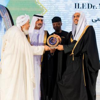 Around the world, HE Dr. Mohammad Alissa has been recognized as a ground breaking leader in promoting tolerance & encouraging dialogue among communities. MWL