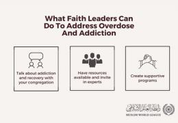 HE Dr. Mohammad Alissa: Faith leaders have an important role to play in combatting the opioid crisis