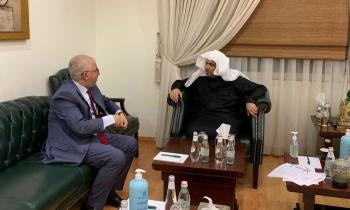HE Dr. Mohammad Alissa welcomed HE Dr. Mohamed Bechari