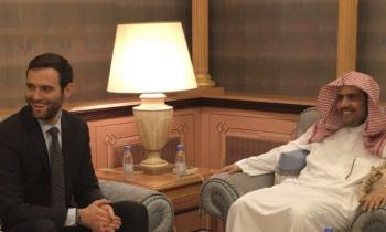 Dr. Al-Issa has received a delegation from the Foreign Relations Committee