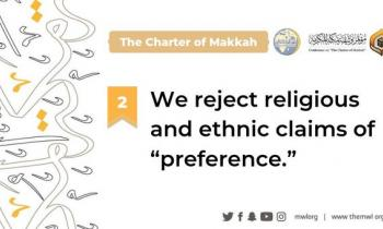 The Charter offers guidance on the principles that illuminate the true meaning of Islam