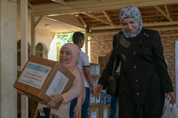The Muslim World League's humanitarian aid initiatives promote food security among vulnerable communities